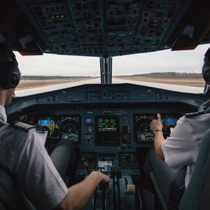 flugsimulator cockpit