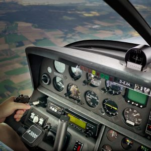 rundflug cockpit